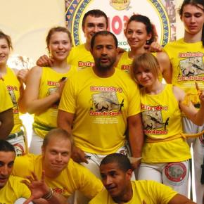 26 апреля - 2 мая 2012 года состоялась Батизаду и смена поясов в Москве (Batizado e Troca de cordas em Moscou)
