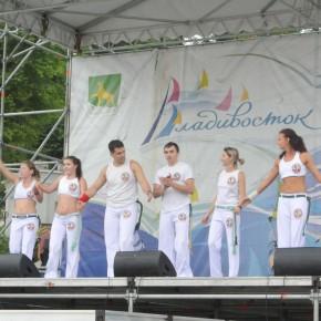 Выступление на набережной Владивостока 29.07.2012.