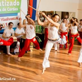 VOLEGRAD.RU - На открытом спортивно-культурном фестивале демонстрировалось многообразие капоэйры!